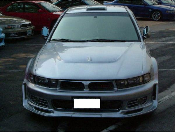 what rots car looked like but on a 99 01 bumper these are real jdm - Mitsubishi Galant 2002 Body Kit
